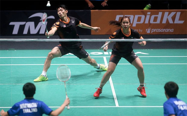 Chan Peng Soon/Cheah Yee See beat top seeds and world No. 31 Tseng Min-hao/Hu Ling-fang of Taiwan in the Vietnam Open mixed doubles quarter-finals on Friday.