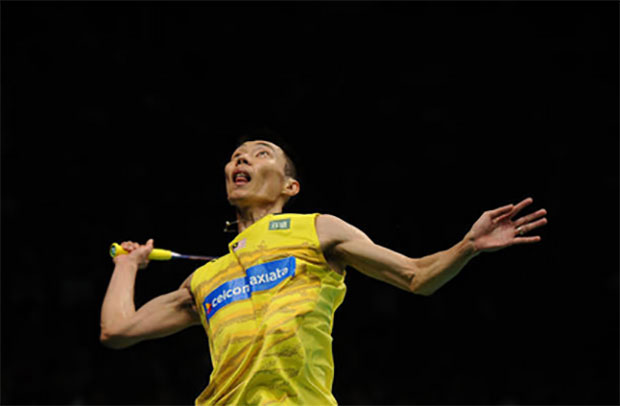Badminton fans will be disappointed not to see Lee Chong Wei at Korea Open. (photo: AP)