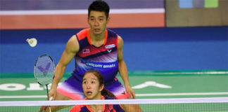 Chan Peng Soon/Cheah Yee See show great potential in mixed doubles. (photo: AP)
