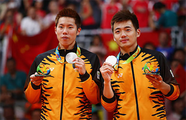 Goh V Shem/Tan Wee Kiong end doubles partnership. (photo: AP)