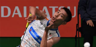 Lee Chong Wei enters Japan Open quarters. (photo: AP)