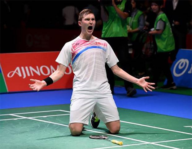Viktor Axelsen becomes No.1 ranked men's singles player. (photo: AP)
