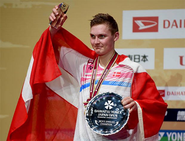 Viktor Axelsen is one of the most valuable brands in badminton. (photo: AP)