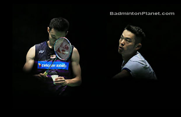 Hopefully yet another epic match between Lee Chong Wei and Lin Dan at French Open.