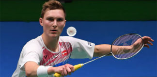 Viktor Axelsen is slowly becoming the face of Badminton. (photo: AP)