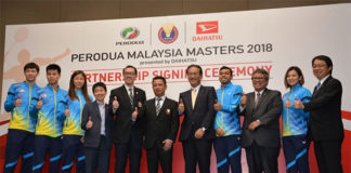 The signing ceremony of BAM, Perodua, and Daihatsu. (photo: Paultan Org)
