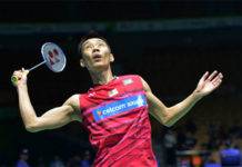Lee Chong Wei still unbelievably competitive in badminton. (photo: AP)