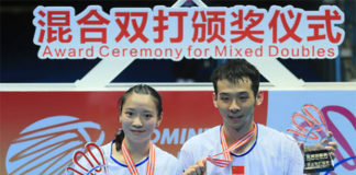 Good luck to Lu Kai/Huang Yaqiong (left) on their new partnerships with other players. (photo: AP)