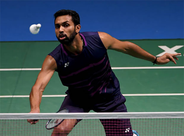 H.S. Prannoy receives highest bid for the 2017-2018 Premier Badminton League (PBL). (photo: AP)
