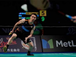 Lee Chong Wei faces H.S Prannoy in the 2017 Denmark Open second round. (photo: AP)