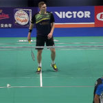 Viktor Axelsen loses to Kidambi Srikanth in 2017 Denmark Open quarter-finals.