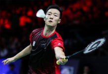 Lee Hyun-il still has a lot of badminton in him. (photo: BWF)