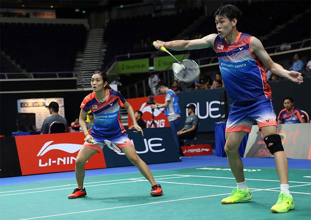 Tan Kian Meng/Lai Pei Jing try to restore confidence at French Open. (photo: AP)