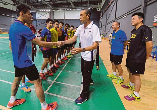 Let's go Lee Chong Wei! (photo: AP)