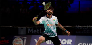 Kidambi Srikanth is on course for winning his fourth Superseries title in Paris. (photo: AP)