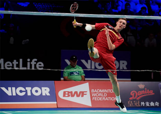 Viktor Axelsen continues at top of BWF rankings. (photo: AP)