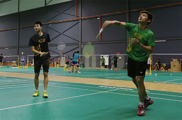 Ong Yew Sin/Tan Wee Kiong look to put up a good show at 2017 Bitburger Open. (photo: Bernama)