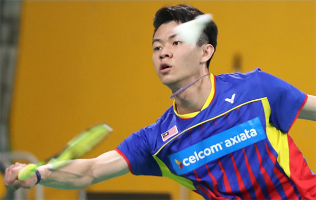 Lee Zii Jia strolls into 2017 Bitburger Open semi-finals