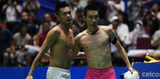 Lee Chong Wei and Lin Dan could meet in the quarter-finals of 2017 China Open. (photo: AP)