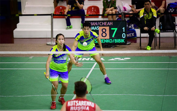 Chan Peng Soon/Cheah Yee See are off to winning starts at the 2017 Macau Open. (photo: AP)