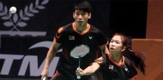 Chan Peng Soon & Cheah Yee See to face tough test in Macau Open semis against Zheng Siwei/Huang Yaqiong. (photo: Bernama)