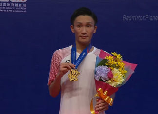 Kento Momota can go back to play in the Super Series tournaments possibly early next year