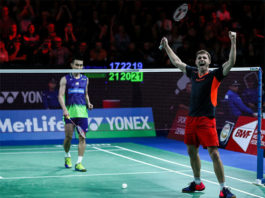 Can't wait to see Lee Chong Wei take on Brice Leverdez in the second round of China Open. (photo: BWF)
