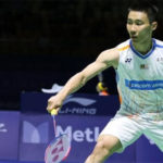 Lee Chong Wei takes revenge on Brice Leverdez in China Open second round.