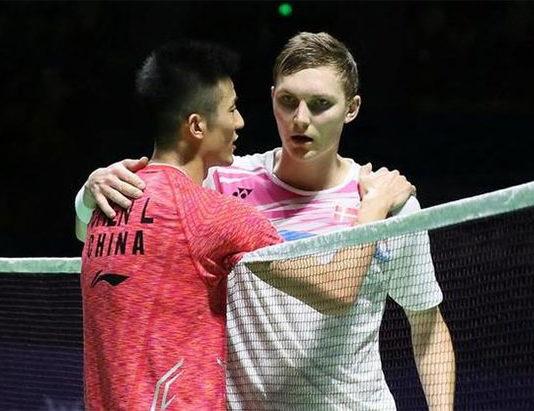 Chen Long could meet Viktor Axelsen again in the semi-finals of next week's Hong Kong Open. (photo: AP)
