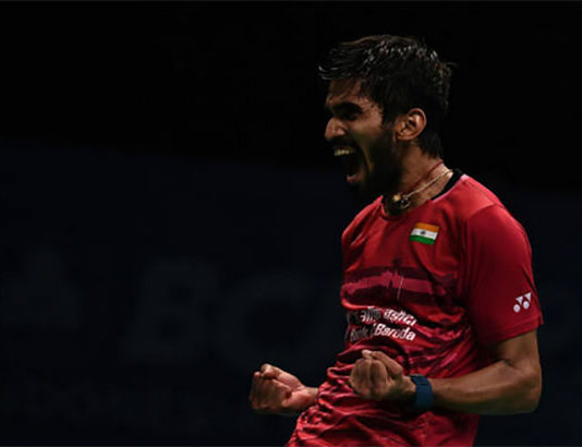 2017 has been an amazing year for Kidambi Srikanth. (photo: AP)