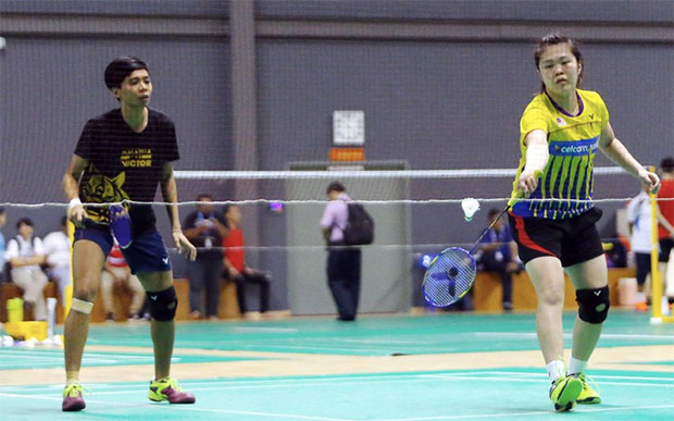 Soong Fie Cho/Tee Jing Yi make the Hong Kong Open first round. (photo: NST)