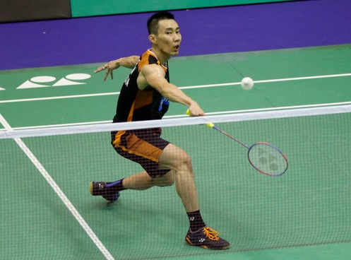 As usual, Lee Chong Wei is the most reliable player to win a point for Malaysia in the 2018 Thomas Cup. (photo: AP)