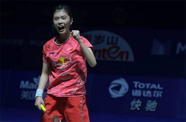 Gao Fangjie wins the 2017 Korea Masters title. (photo: AP)