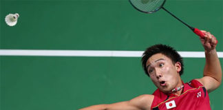 Can't wait to see Kento Momota playing at Super Series tournaments. (photo: AP)