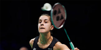 Wish Carolina Marin a speedy recovery. (photo: AP)