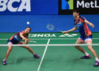Tan Kian Meng/Lai Pei Jing look to redeem themselves with win in Dubai. (photo: AP)