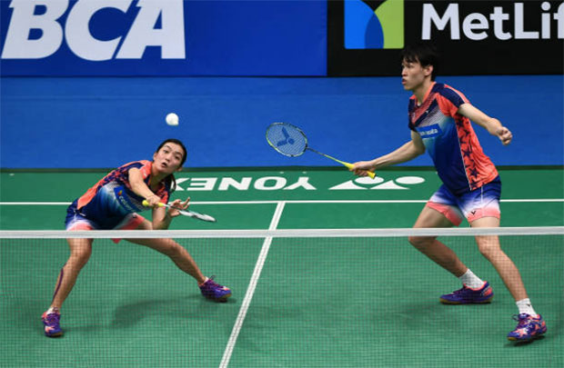 Tan Kian Meng/Lai Pei Jing look to redeem themselves with win in Dubai. (photo: AP)