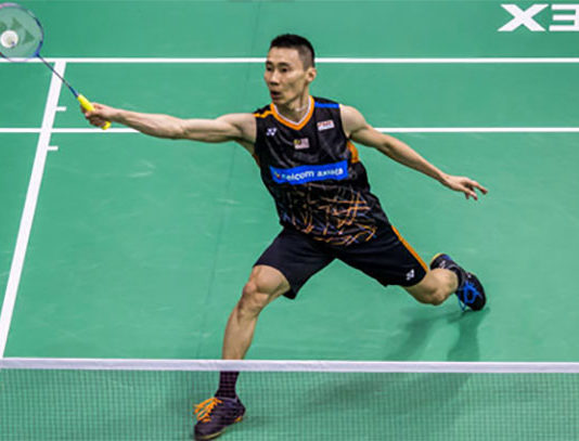 Lee Chong Wei looks to end the 2017 season on a high. (photo: AP)