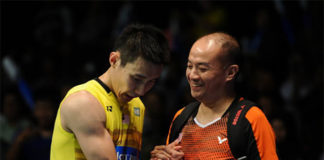 Lee Chong Wei and Hendrawan (right) have a good coach-player relationship. (photo: AP)