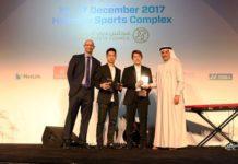 "Congratulations to Kevin Sanjaya Sukamuljo/Marcus Fernaldi Gideon for winning the 2017 BWF ""Male Player of the Year"" award. (photo: AP)"