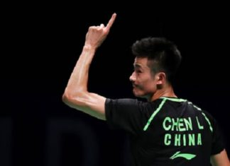Chen Long withdraws from the 2017 BWF Super Series Finals. (photo: AP)