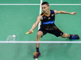 Lee Chong Wei to play Son Wan Ho on Friday. (photo: AP)
