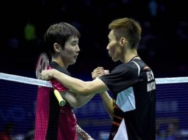 Lee Chong Wei (right) to face Son Wan-Ho (left) on Saturday at BWF Super Series Finals with chance for revenge. (photo: AP)
