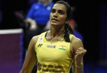 PV Sindhu is one match away from winning her maiden title at the BWF Super Series Finals. (photo: AP)