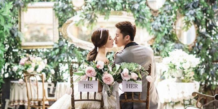 Wedding photo of Goh V Shem/Wong Pui Mei. (photo: Vshem Instagram)