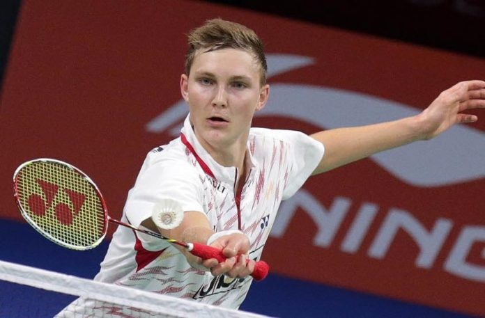 Viktor Axelsen is one of the biggest stars in the 2017/2018 PBL. (photo: AP)