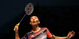 Lee Chong Wei could face Chen Long in the 2018 Malaysia Masters semi-finals. (photo: AP)