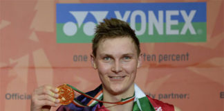 Congratulations to Viktor Axelsen for winning Denmark's Sportsperson of the year!
