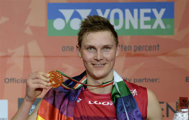 Congratulations to Viktor Axelsen for winning Denmark's Sportsperson of the year!