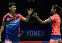 Chan Peng Soon/Goh Liu Ying breeze into Malaysian Masters second round. (photo: AP)